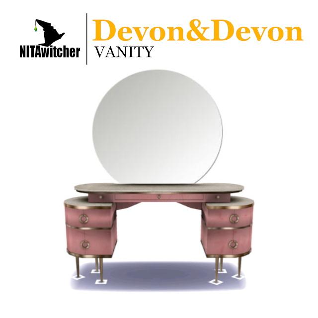 Devon&Devon vanity at NITA image 608 Sims 4 Updates
