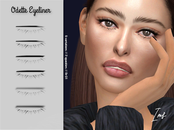 IMF Odette Eyeliner N.57 by IzzieMcFire at TSR image 6110 Sims 4 Updates