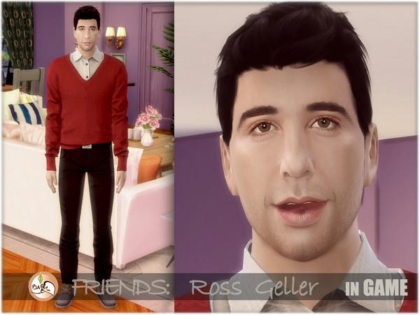 FRIENDS   Ross Geller by BAkalia at TSR image 620 Sims 4 Updates