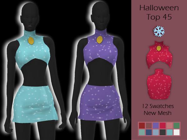 LMCS Halloween Top 46 by Lisaminicatsims at TSR image 6217 Sims 4 Updates