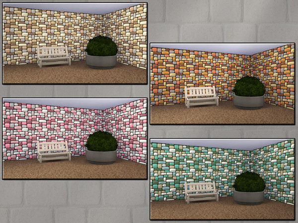MB Stone Collection Comic Style by matomibotaki at TSR image 628 Sims 4 Updates
