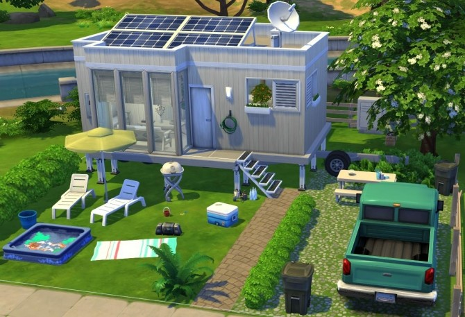 Cute and cozy tiny house at Fab Flubs image 634 670x457 Sims 4 Updates