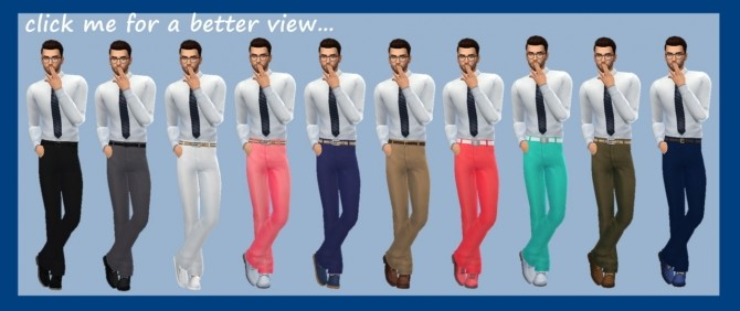 BG LONGLINE PANTS (M) at Sims4Sue image 639 670x282 Sims 4 Updates