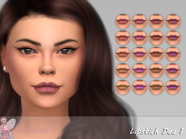 Lipstick Dea 1 by Jaru Sims at TSR image 640 Sims 4 Updates