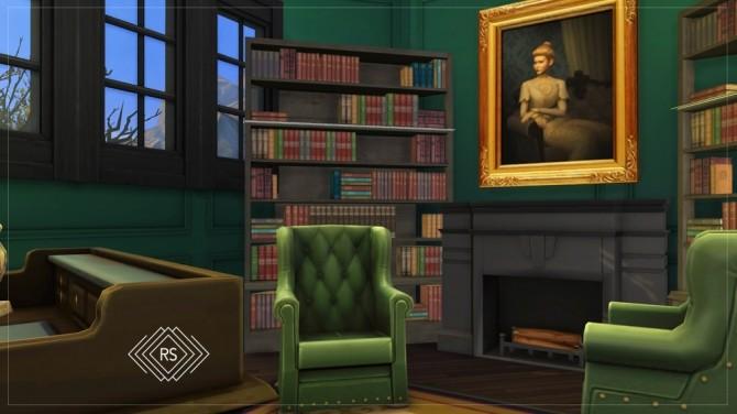 Sims 4 VAN TASSEL HOUSE  SLEEPY HOLLOW at RUSTIC SIMS