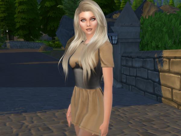 Sims 4 Makayla Cole by divaka45 at TSR