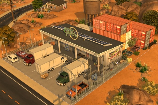 SHIPPING COMPANY at Fab Flubs image 647 670x449 Sims 4 Updates