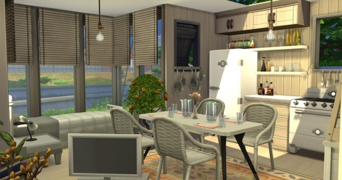 Cute and cozy tiny house at Fab Flubs image 653 670x353 Sims 4 Updates