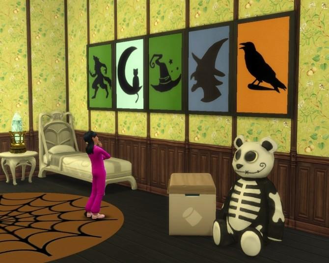 Halloween set at Mara45123 image 657 670x536 Sims 4 Updates