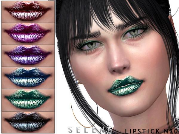 Sims 4 Lipstick N30 by Seleng at TSR