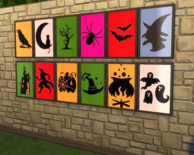 Halloween set at Mara45123 image 669 670x536 Sims 4 Updates