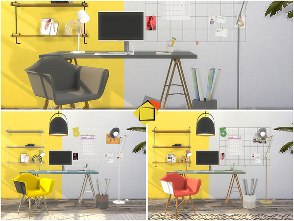 Rothenberg Study Room by Onyxium at TSR image 670 Sims 4 Updates