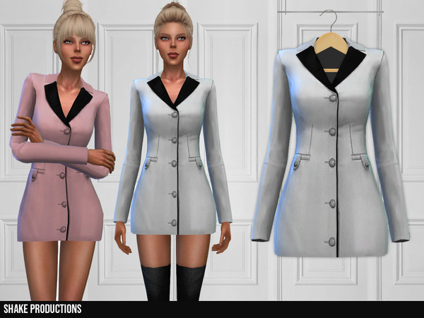 Sims 4 324 Dress by ShakeProductions at TSR