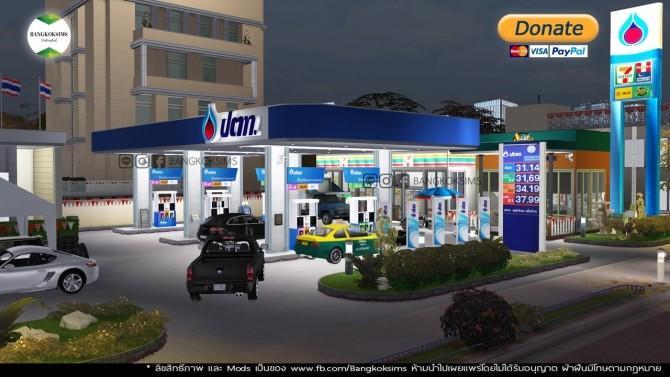 Sims 4 PTT Gas Station (P) at BangkokSims