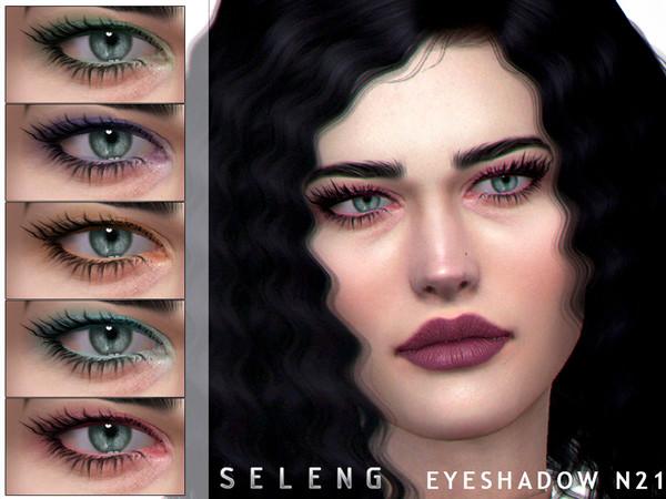 Sims 4 Eyeshadow N21 by Seleng at TSR