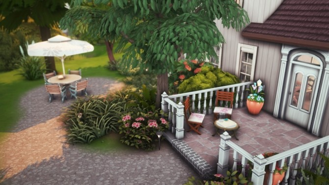 Sims 4 Little Gothic Revival Cottage at Miss Ruby Bird