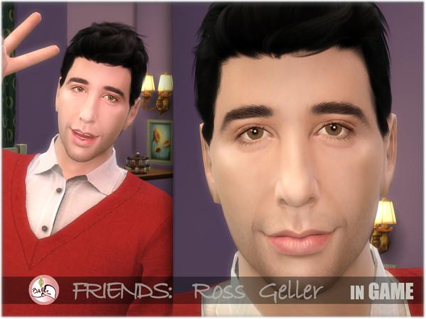 FRIENDS   Ross Geller by BAkalia at TSR image 720 Sims 4 Updates