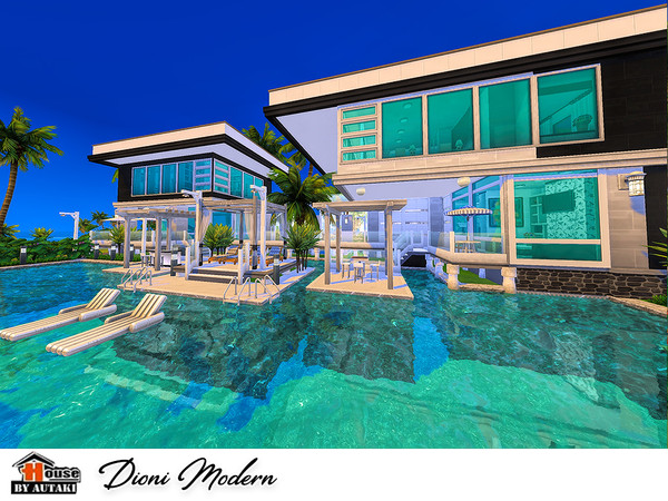Dioni Modern house by autaki at TSR image 728 Sims 4 Updates