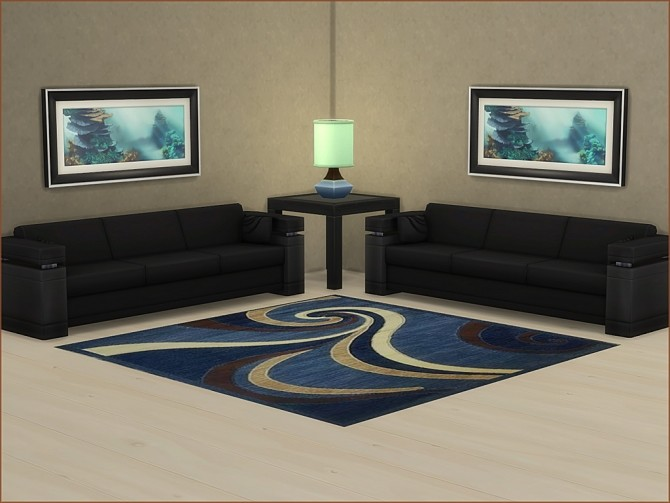 Variety of Square 3x3 rugs by oumamea at Mod The Sims image 7315 670x503 Sims 4 Updates