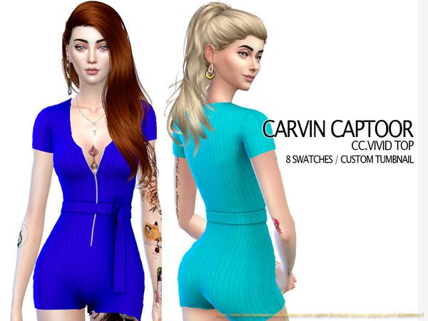 Sims 4 Okaspen RF by carvin captoor at TSR