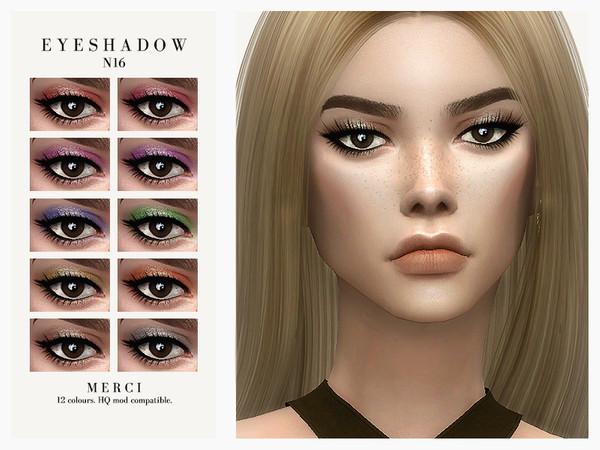 Sims 4 Eyeshadow N16 by Merci at TSR