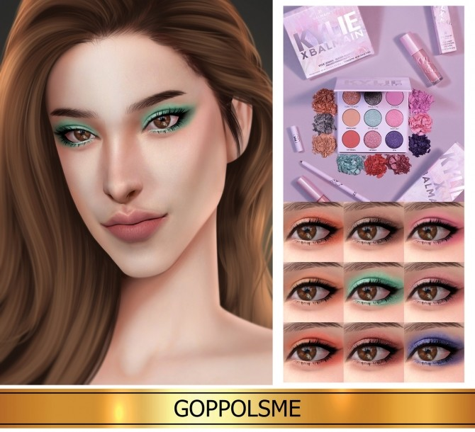 GPME GOLD Palette Kyshadow at GOPPOLS Me image 737 670x610 Sims 4 Updates