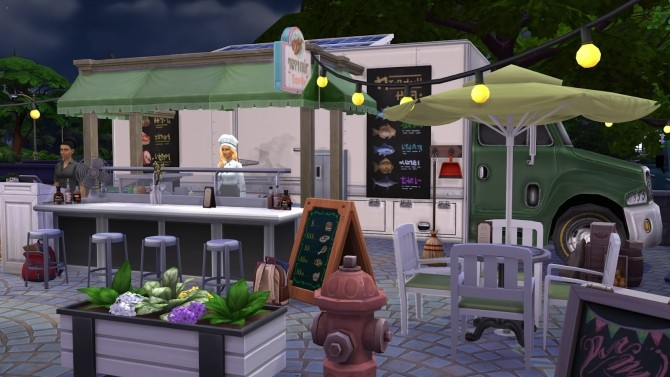 Food truck at Fab Flubs image 739 670x377 Sims 4 Updates