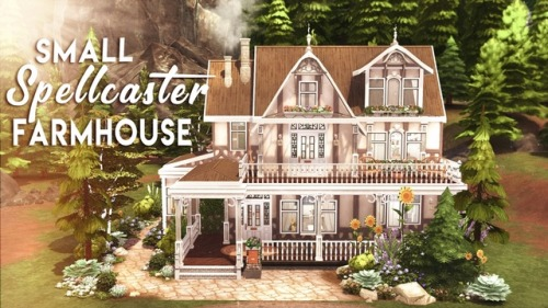 SMALL SPELLCASTER FARMHOUSE at BERESIMS image 741 Sims 4 Updates
