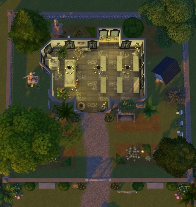 Eternal rest graveyard at Fab Flubs image 7412 670x706 Sims 4 Updates