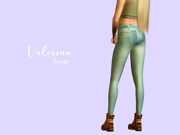 Sims 4 Valerina Jeans by laupipi at TSR