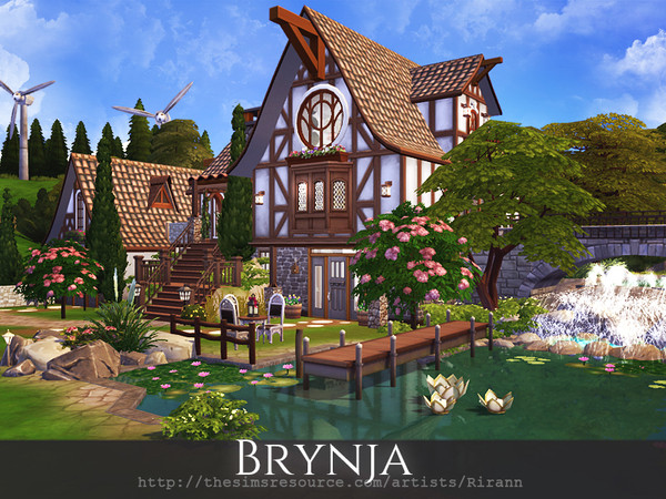 Brynja cozy house by Rirann at TSR image 7417 Sims 4 Updates