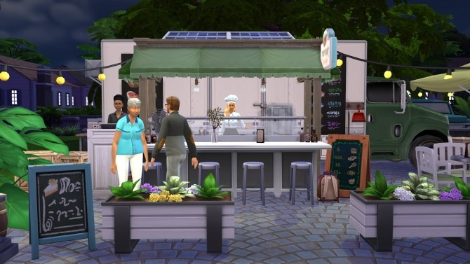 Food truck at Fab Flubs image 749 670x377 Sims 4 Updates