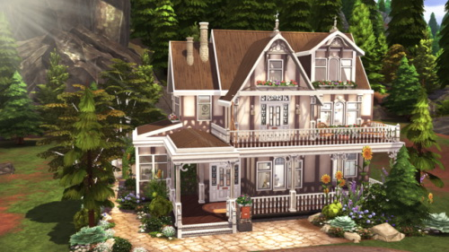 SMALL SPELLCASTER FARMHOUSE at BERESIMS image 751 Sims 4 Updates