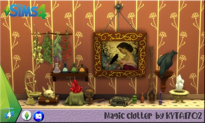 Magic Clutter set by Kyta1702 at Simmetje Sims image 7511 670x402 Sims 4 Updates