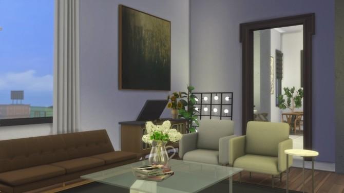 Sims 4 Fancy Apartment at GravySims