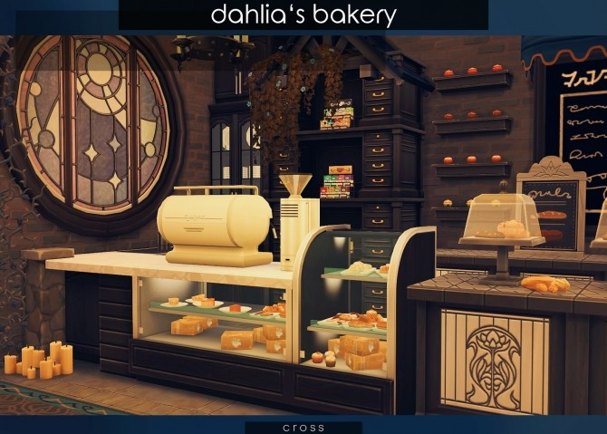 Dahlias Bakery at Cross Design image 7513 670x479 Sims 4 Updates