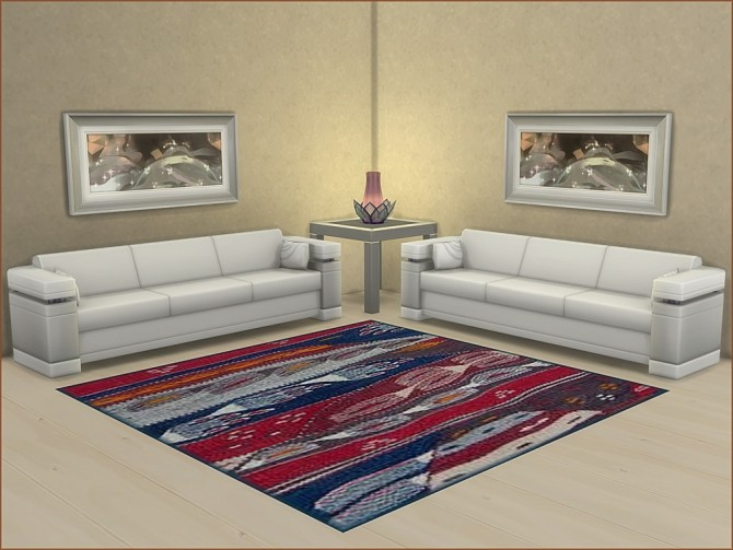 Variety of Square 3x3 rugs by oumamea at Mod The Sims image 7515 670x503 Sims 4 Updates