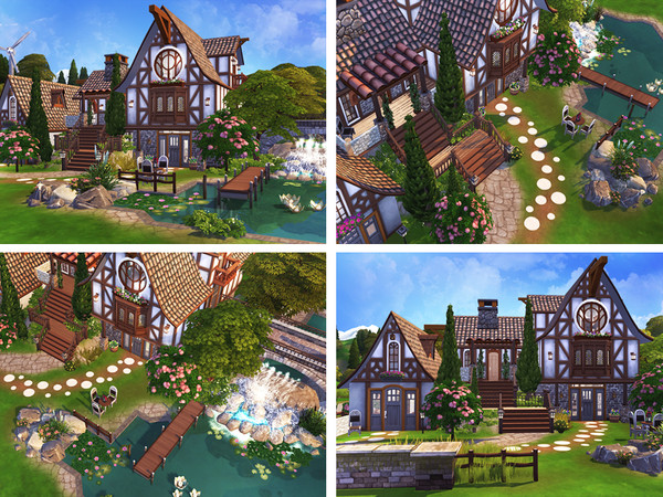 Brynja cozy house by Rirann at TSR image 7516 Sims 4 Updates