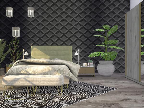 Escondido Bedroom by ArtVitalex at TSR image 755 Sims 4 Updates