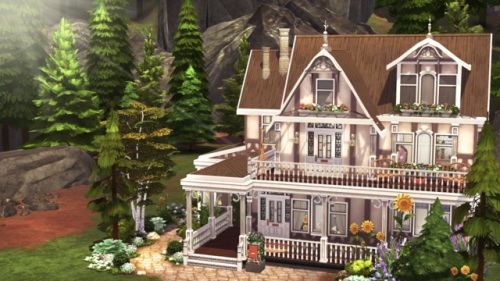 Sims 4 SMALL SPELLCASTER FARMHOUSE at BERESIMS