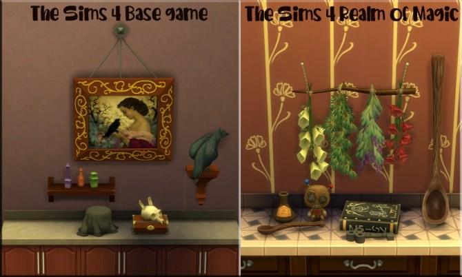Magic Clutter set by Kyta1702 at Simmetje Sims image 7612 670x402 Sims 4 Updates