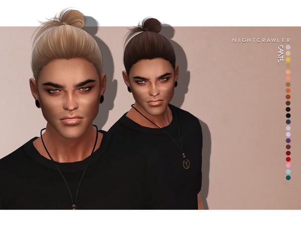 Sims 4 Dante HAIR by Nightcrawler at TSR