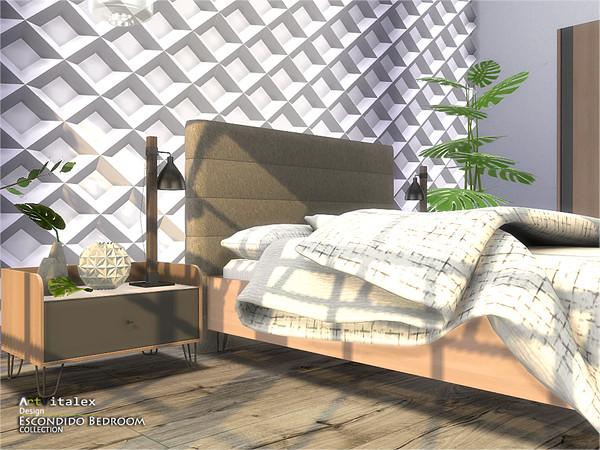 Escondido Bedroom by ArtVitalex at TSR image 766 Sims 4 Updates