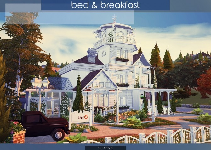 Bed & Breakfast house at Cross Architecture image 7714 670x479 Sims 4 Updates