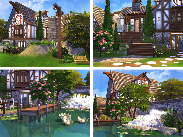 Brynja cozy house by Rirann at TSR image 7717 Sims 4 Updates