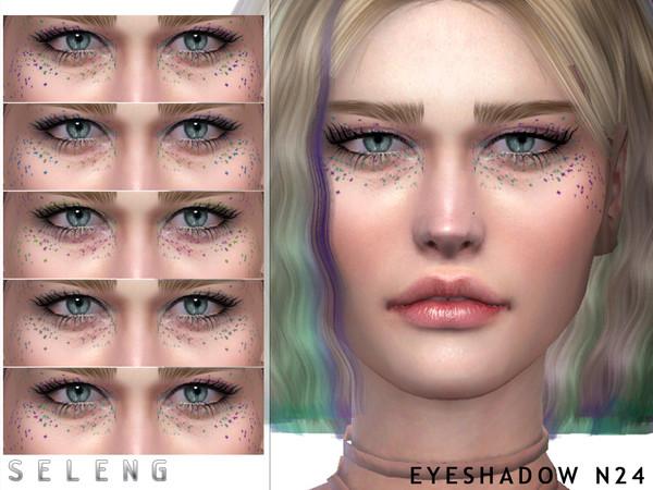 Sims 4 Eyeshadow N24 by Seleng at TSR