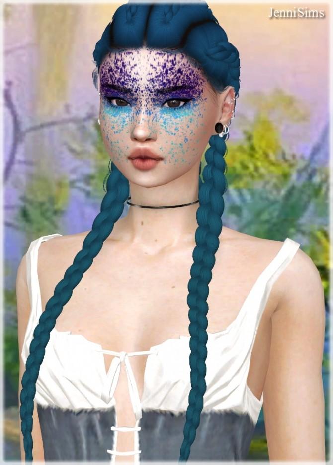 Sims 4 Eyeshadow Witcheryng Girl (15 Swatches ) at Jenni Sims