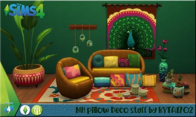 Sims 4 MH pillow deco stuff at Simmetje Sims