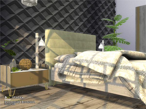 Escondido Bedroom by ArtVitalex at TSR image 785 Sims 4 Updates