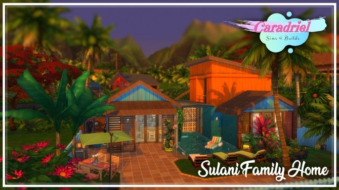 Sulani Town Family Home by Caradriel at Mod The Sims image 787 670x377 Sims 4 Updates